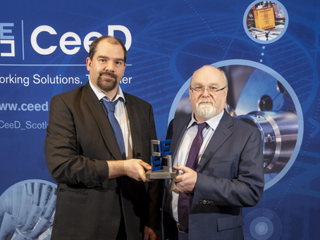UWS ITFSI Industry Partner Helia Photonics Ltd wins CeeD 2020 Award