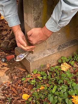 Mending a headstone I 112020.jpeg