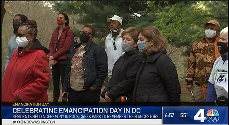 DC Emancipation Celebration At Mount Zio