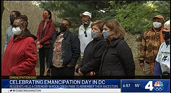 DC Emancipation Celebration At Mount Zio