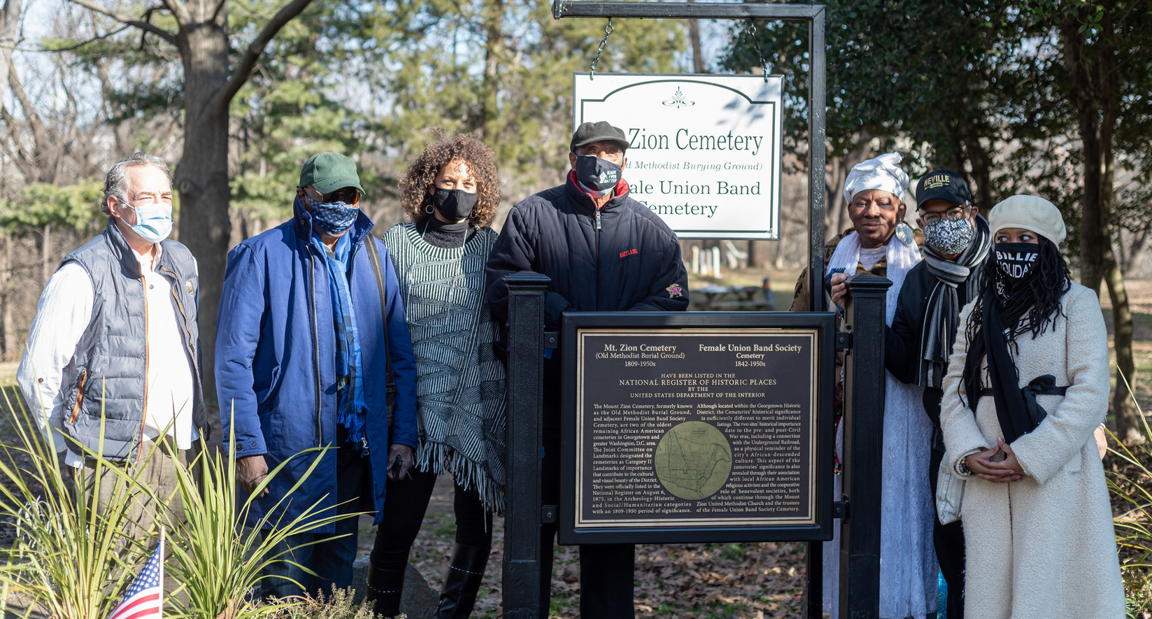 National Register of Historic Places Designation Plaque Dedication Foundation Board