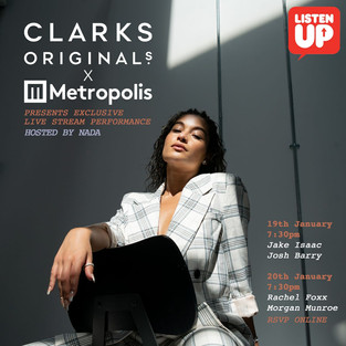Metropolis Studios partner up with Clarks Originals for an exclusive live stream music series!