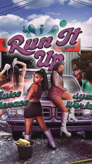 NEW: Juice Menace x Sym Worldd - Run It Up - Prod by. JB Made It - Visuals by. Paul Whisper