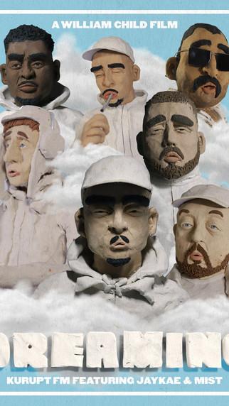 NEW: Kurupt FM ft. Jaykae & Mist - Dreaming - Prod by. FRED, Joe Anonymous & Sid Stone