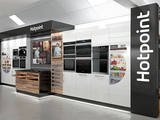 Hotpoint showroom