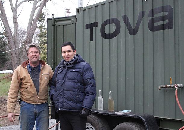 H. E. Nurzhan Bazylbekov and Inventor / CEO Mr. Rob Elfstrom