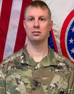 Sgt Trevor Riesner