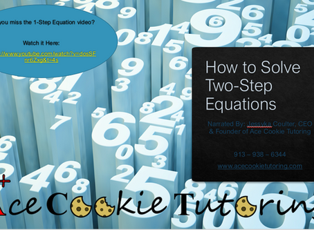Tutoring Transcript: How to Solve Two-Step Equations
