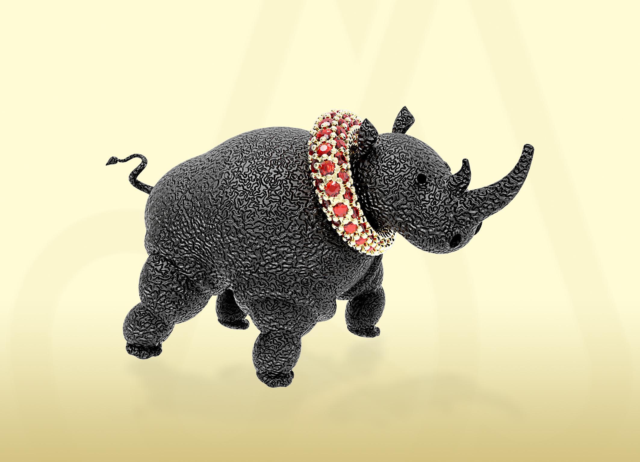 Rhinocerios מידול בריינו