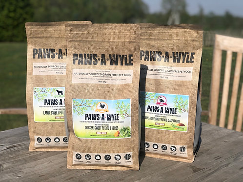 Paws a wyle small breed (2kg)
