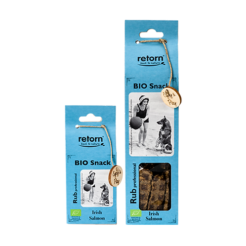 Retorn - bio zalm snack