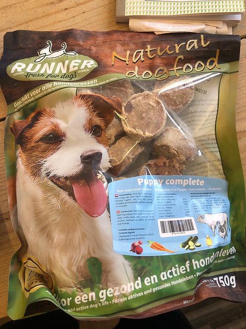 Runner deelblokjes puppy
