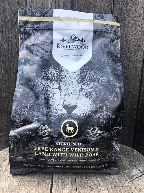 Riverwood sterilised (hert, lam en wild everzwijn)