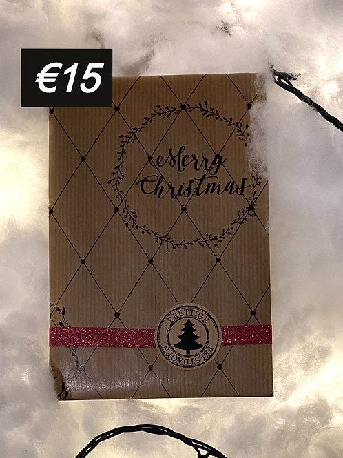 Cadeaubon € 15