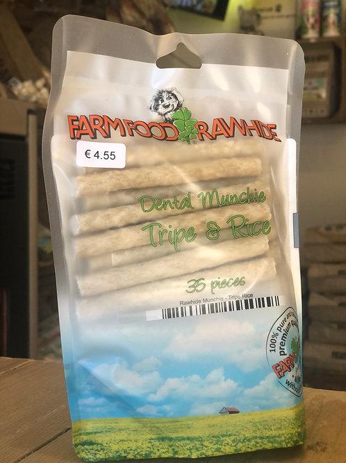 Farm food munchies pens & rijst