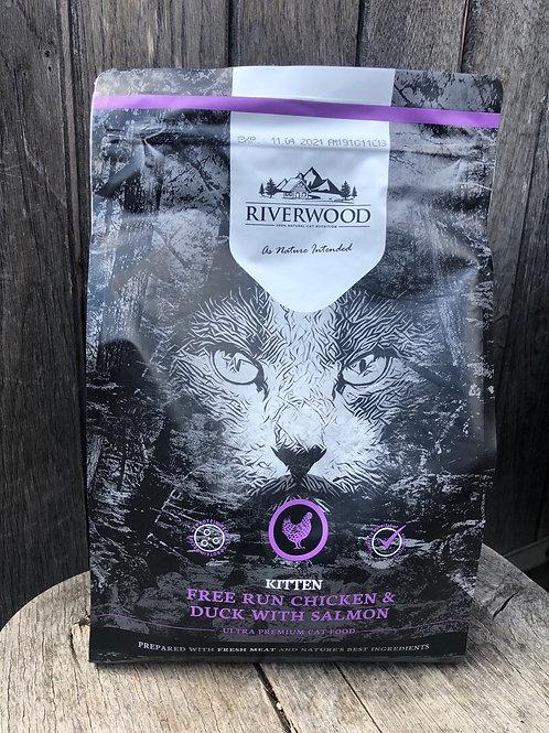 Riverwood kitten (kip, eend en zalm)