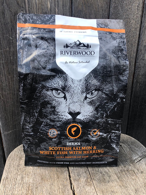 Riverwood derma (zalm, witvis en haring)