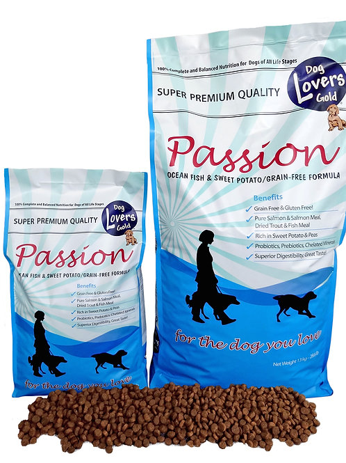 Dog lovers gold Passion (fish)