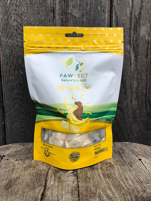 PawFect crispy banana treats