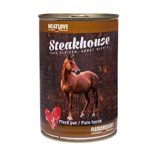 Steakhouse blik puur paard