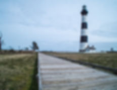 Bodie lighthouse, Outer Banks, North Carolina