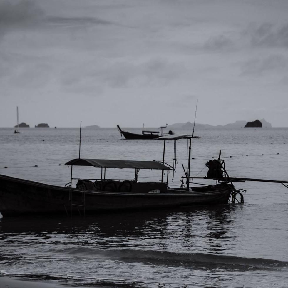 Long-tail boat, Krabi, Thailand