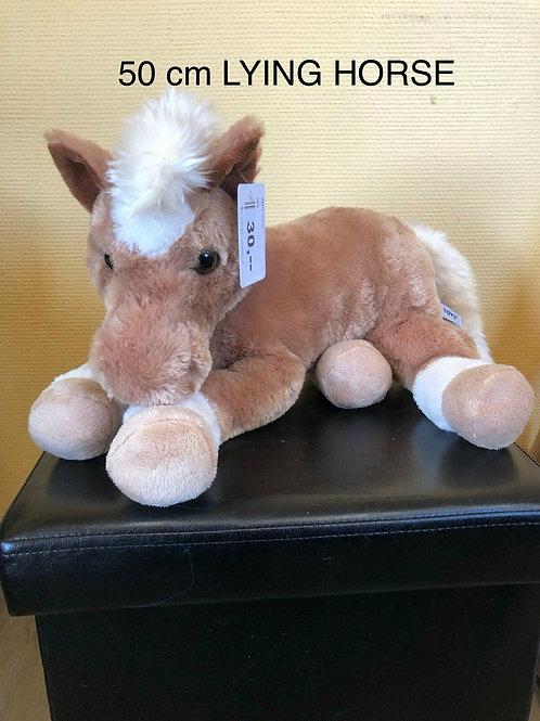 Plüschtier Pferd liegend (Groß)