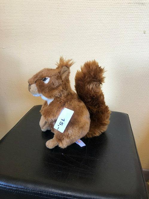 Plüschtier Eichhörnchen