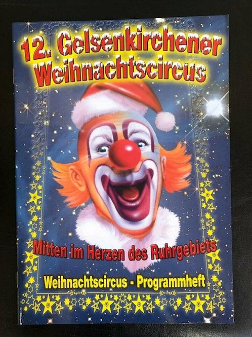 Programmheft 12. Gelsenkirchener Weihnachtscircus