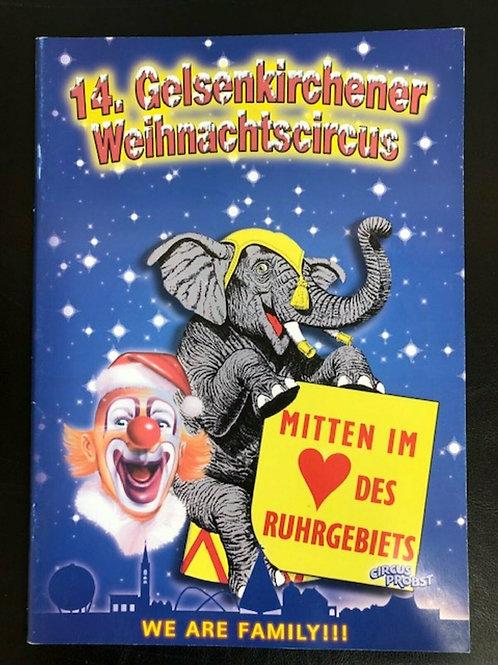Programmheft 14. Gelsenkirchener Weihnachtscircus
