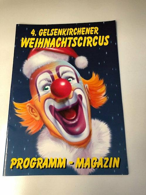 Programmheft 4. Gelsenkirchener Weihnachtscircus
