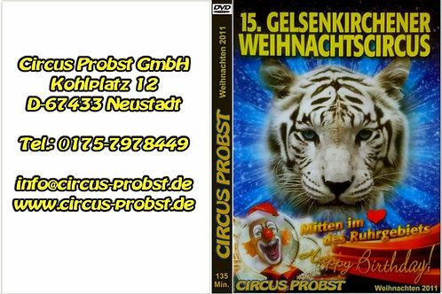 DVD 15. Gelsenkirchener Weihnachtscircus