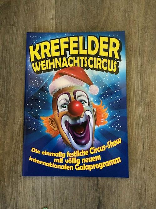 Programmheft 2. Krefelder Weihnachtscircus