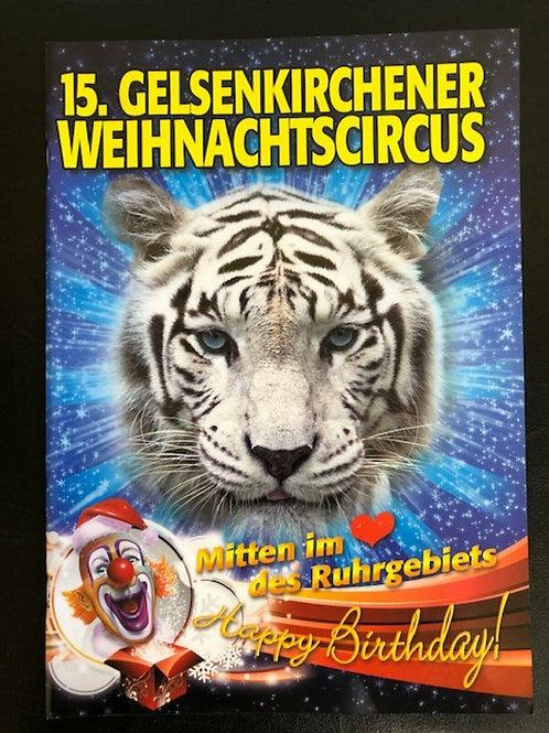 Programmheft 15. Gelsenkirchener Weihnachtscircus