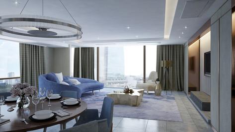 Residential interior_Living&Dining
