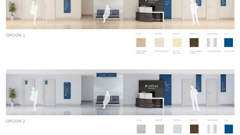 Hospital_Section colore scheme