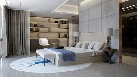 Residential interior_Bedroom