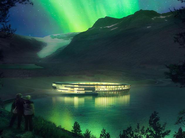 Svart Hotel Norway, Opening 2022