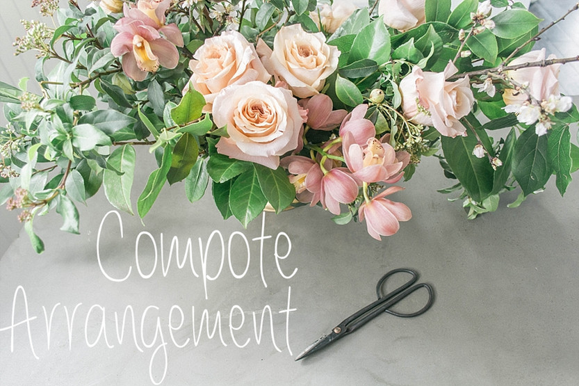 HOW TO: Compote Arrangement