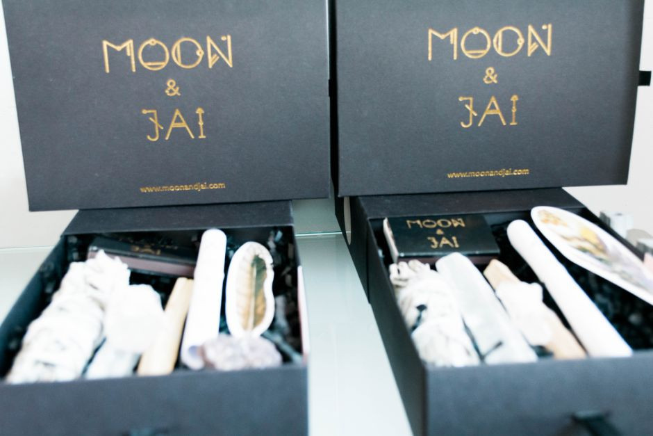 clear your space with Moon & Jai crystal ritual kits clear your space