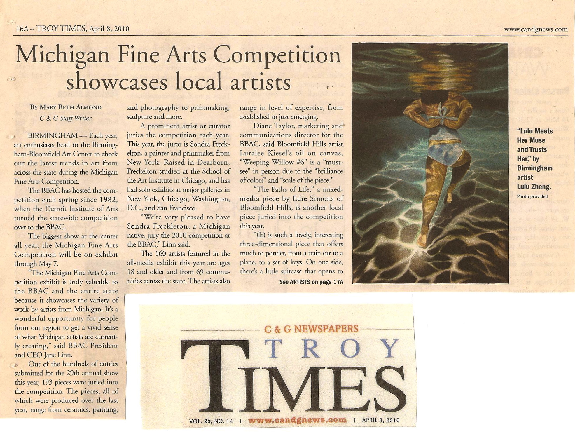'Troy Times' 2010