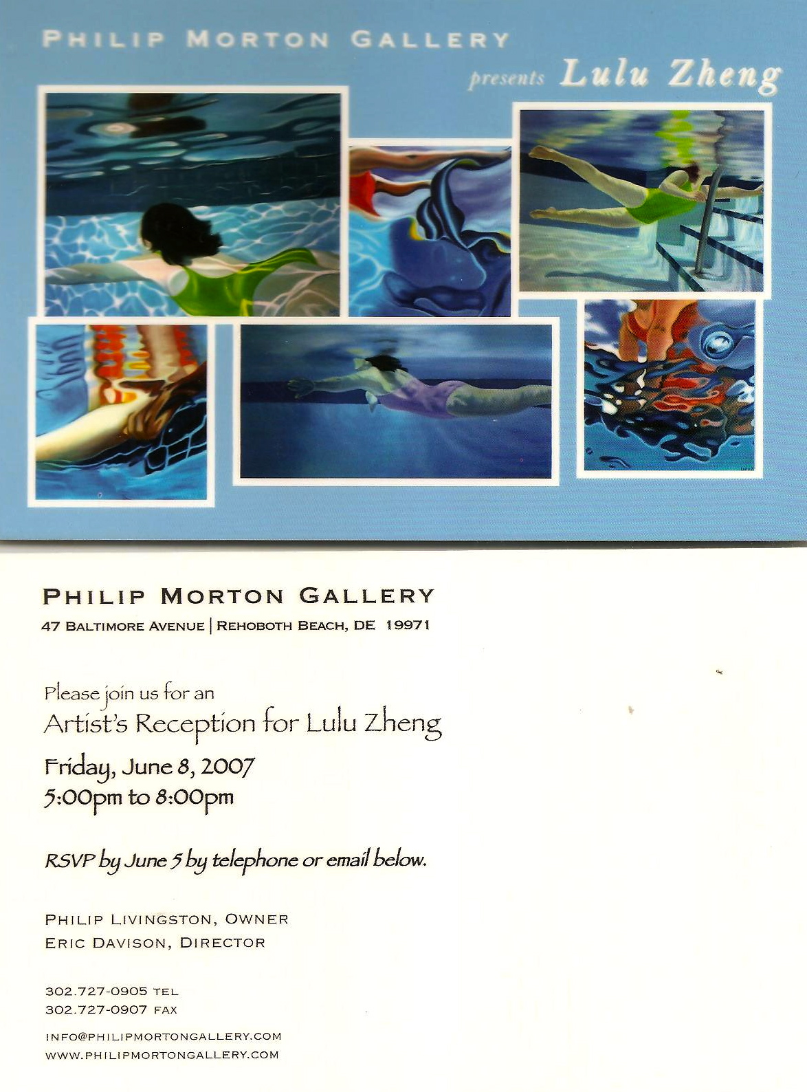 Philip Morton gallery solo show