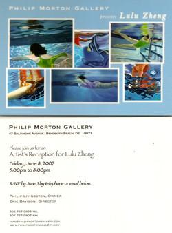 Philip Morton gallery solo show
