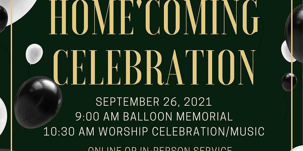 Homecoming Church Service