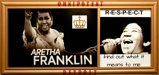 In honor of the One and Only Queen of Soul Aretha Franklin