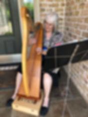 Susan Wilzer Random Acts of Harping2020.