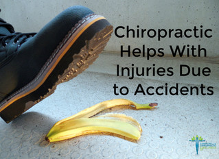 Chiropractic Helps With Injuries Due to Accidents