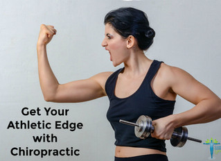 Get Your Athletic Edge with Chiropractic Care