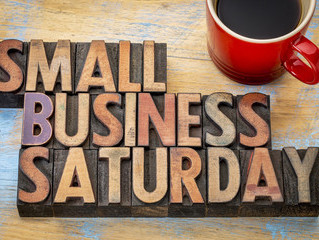 Today is Small Business Saturday!