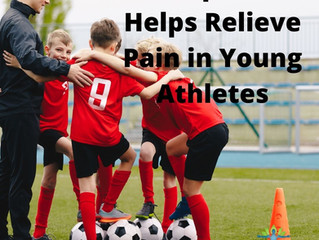 Chiropractic Helps Relieve Pain in Young Athletes